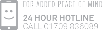 24 hour hotline: 01709 836089